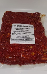 Sun Dried Tomato Strips Ready To Eat With SO2 (4x2250gr)